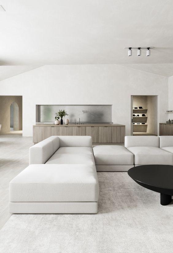 Kanye West Interior Inspiration Minimalist Home Minimalist Home Interior Minimalist Living Room Minimalist interior design living room
