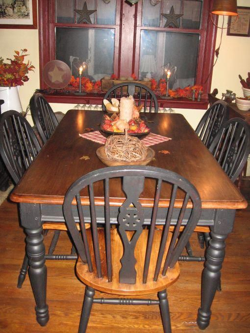 Primitive White Dining Chair Primitive Dining Room Dining Room Designs Decorating Ideas Primitive Dining Room Primitive Dining Rooms White Dining Chairs