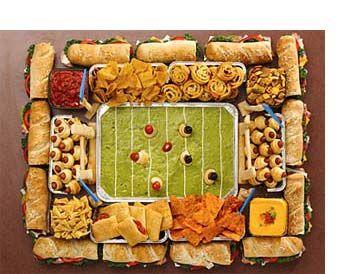 Superbowl Snackadium - It's game time!