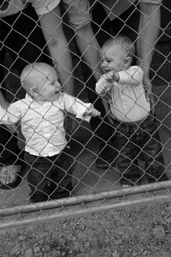 Baby Best Friends Photography