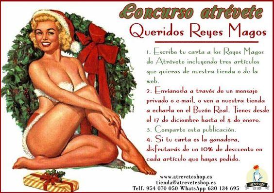 ¡¡Los Reyes Magos llegan a #AtréveteShop!! #Concurso #Sevilla #Sexo