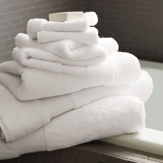 White Egyptian Cotton Towels - Towels   The White Company