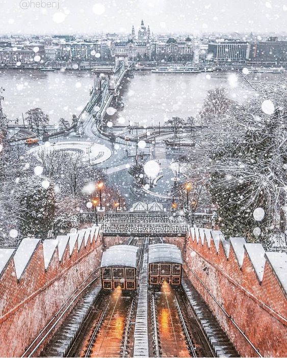 Budapest im Winter Будапешт на новий рік тури