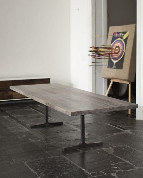 Kitchen Table Alternatives: Slab Table, Trestle Table And Furniture On Pinterest