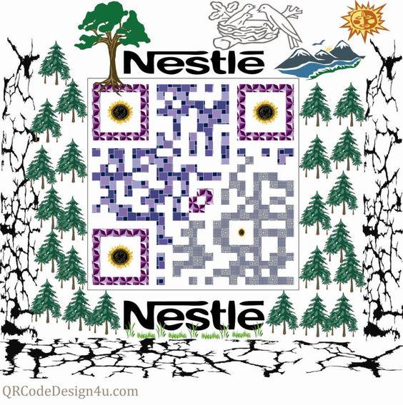 Nestle QR Code