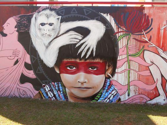 Metamorfose Ambulante: Street Art in   Brazil  - Goiânia, Brasilia e Cald...