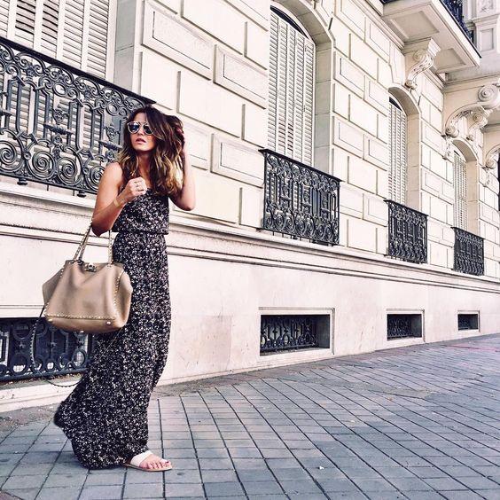 """Alexandra Pereira no Instagram: """"Today in my new @buylevard maxi dress ❤️ #lovelypepa #Madrid #style"""""""