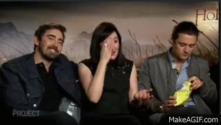The Hobbit: the Battle of the Five Armies interview - Lee Pace and Orlando Bloom