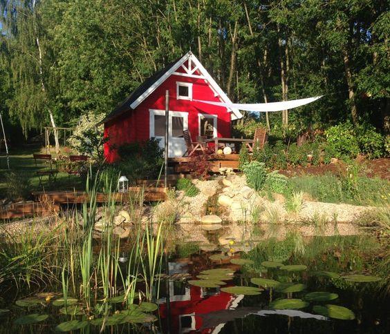 Ein skandinavisches Gartenhaus in Ihrem Garten: 3 Dekoideen