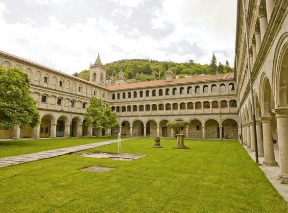 Monasterio de Santo Estevo de Ribas de Sil(Ribeira Sacra,Orense)Galicia