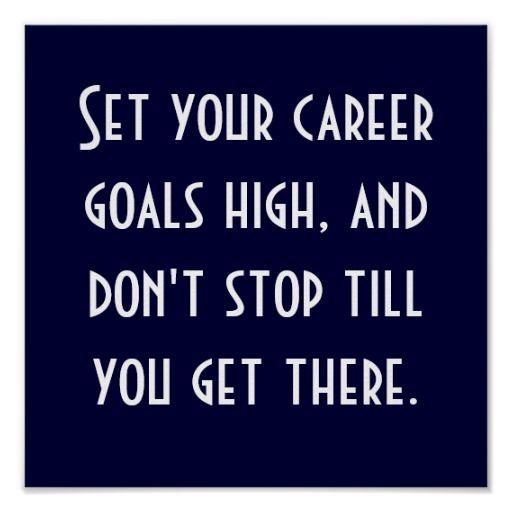 Setting Career Goals is Easier Using Career Examples and Career - career goal examples