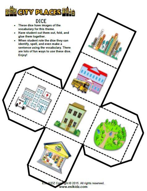 Https Www Teacherspayteachers Com Product City Places Classroom Center Bundle 3250107 Classroom Centers Art Activities For Kids English Phonics Places of city worksheet