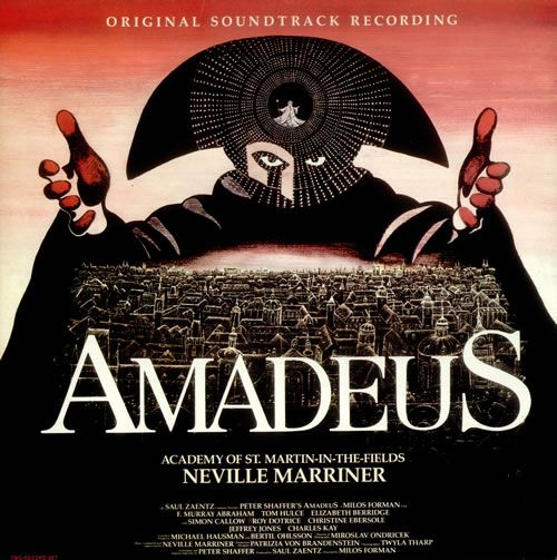 """""""Amadeus"""" (1984, Metronome).  Music from the movie soundtrack."""