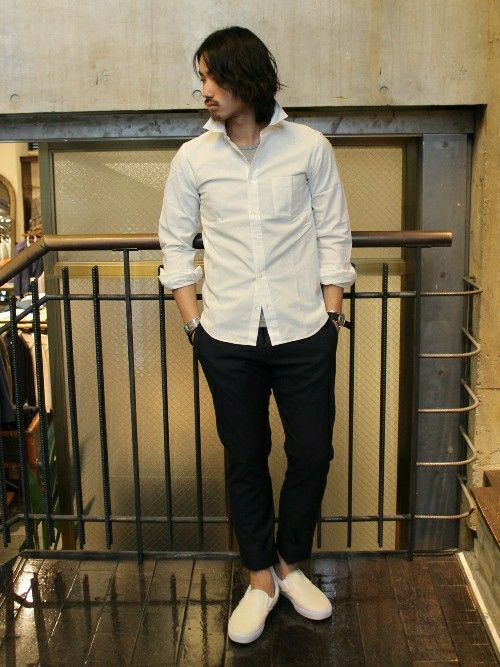 JOURNAL STANDARD 渋谷店|JOURNAL STANDARD 渋谷店 スタッフさんのスニーカー「VANS Classic / バンズ: Slip-On / スリッポン(JOURNAL STANDARD|ジャーナルスタンダード)」を使ったコーディネート