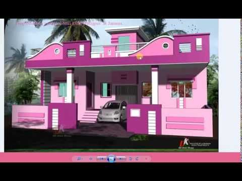 Home Front Designs Indian Style With Different Colors Youtube