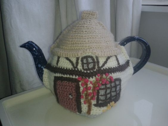 another crochet tea cosy pattern on Ravelry