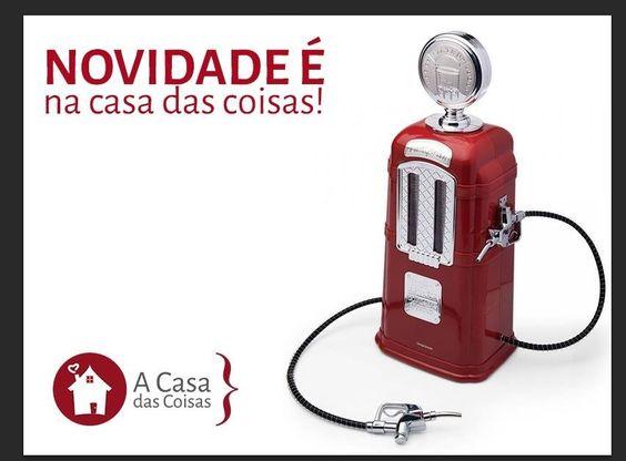 Torre De Chopp - Bomba De Gasolina Retro - R$ 259,99 no MercadoLivre