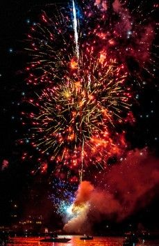 """The """"Big Show"""" 4th of July Fireworks « Lake Chelan"""