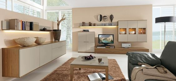 25 modern gestaltete Wohnzimmer Wohnzimmer Pinterest Modern - wohnzimmer modern hell