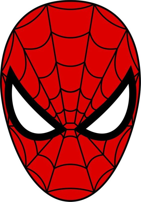 Available Image Sizes 8 Circle Letter Size Sheet 8 5 X 10 75 12 2 5 Circles Good Size For Cupcake Toppers Or Sugar Co Spiderman Face Spiderman Mask Spiderman