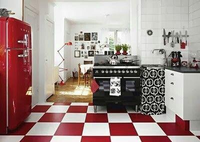 Cozinha retro