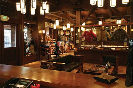 Seattle Flagship store... all the Filson you could ever need.