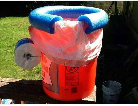 Storm Shelter Potty DIY PHOTO