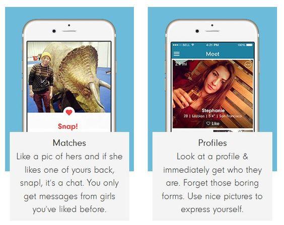 lesbisk dating apps