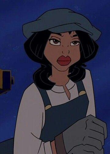 Disney Atlantis Character Design : Audrey ramirez the only latina character disney has