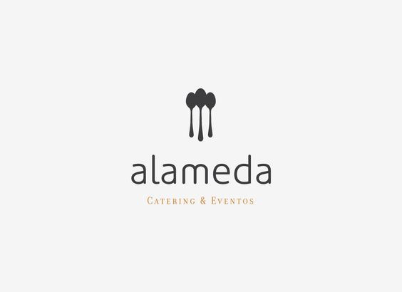 Alameda #branding #logotipo #catering www.colectivoverbena.info