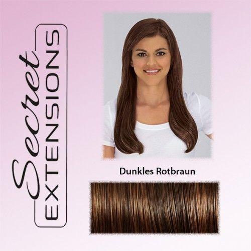 Secret Extensions dunkles Rotbraun