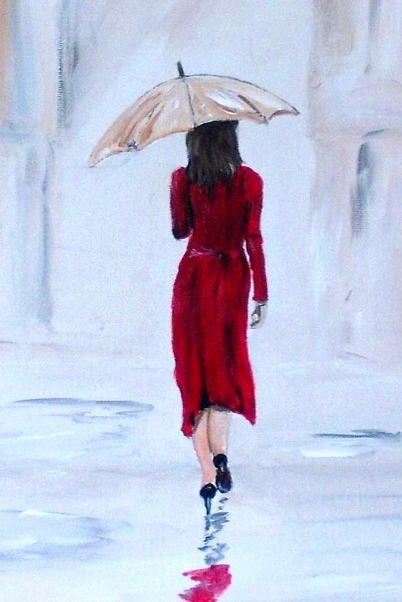 Pin De Fer Garzón En Rain Pintura De Lluvia Pinturas Pintura Y Dibujo