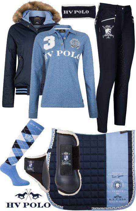 .HV Polo Winter Blue Roosville #Epplejeck #hvpolo #blue #roosville #winter16