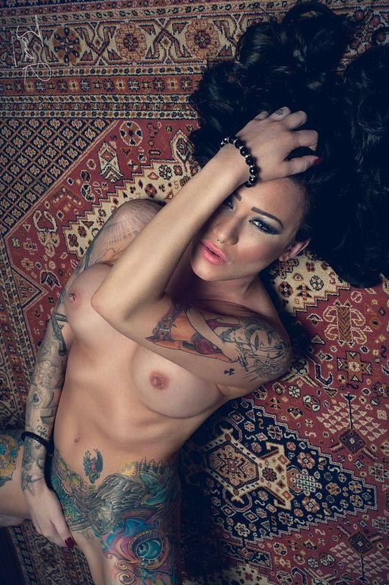 """inked-females: """" Becky Holt Follow us on Twitter @inkedfemales """""""