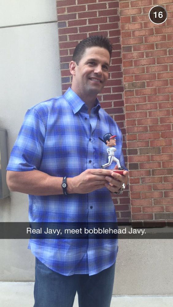 Stole this off Snapchat... It looks nothing like him. Wonder if they got his butt right on the bobble head??