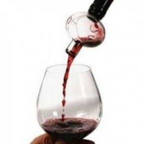 Soiree bottle top aerator - great product and a great gift for those wine aficionados in your life!