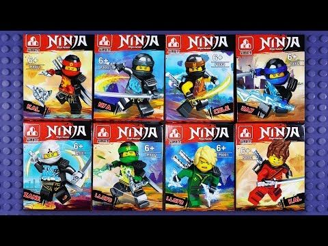 Lego Ninjago Spinjitzu Master Robes Minifigures Knock Off P8001 Youtube Ninjago Spinjitzu Ninjago Lego Ninjago