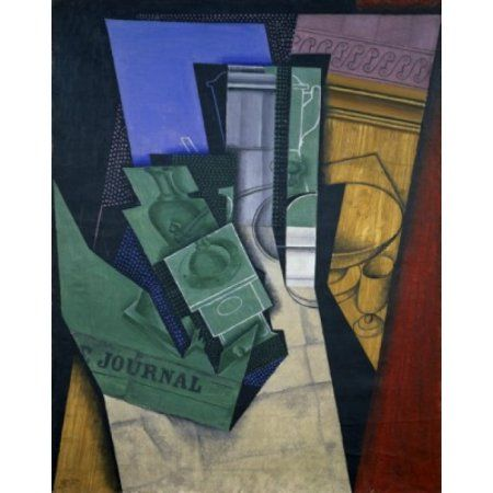 The Breakfast 1915 Juan Gris (1887-1927Spanish) Oil on canvas Musee National dArt Moderne Canvas Art - Juan Gris (18 x 24)