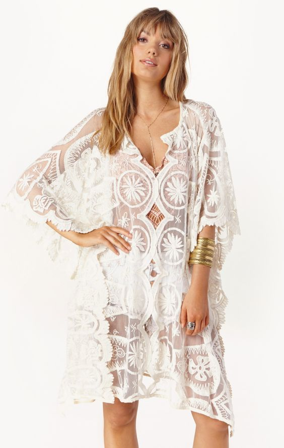 PIXIE FRENCH CAFTAN