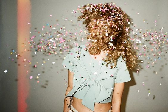 (Random Post) I can't help but think of how painful it must have been to get glitter thrown in her face.