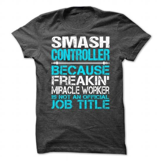Awesome Shirt For Smash Controller T Shirts, Hoodies. Check price ==► https://www.sunfrog.com/LifeStyle/Awesome-Shirt-For-Smash-Controller-2092-DarkGrey-Guys.html?41382 $21.99