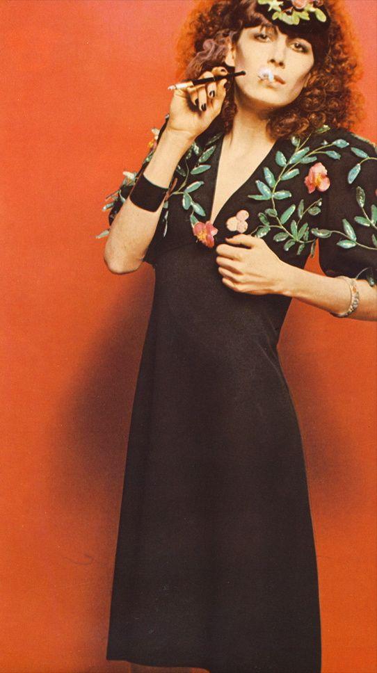 "Anjelica Huston by Bob Richardson, for ""Vogue Italia ..."