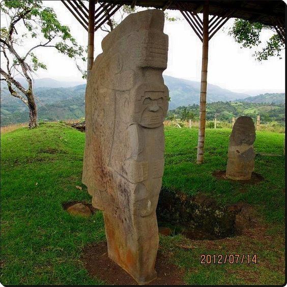 Doble yo Cultura Precolombina de San Agustín Huila Colombia