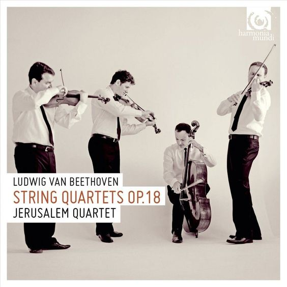Jerusalem Quartet - Ludwig van Beethoven: String Quartets Op. 18 (CD)