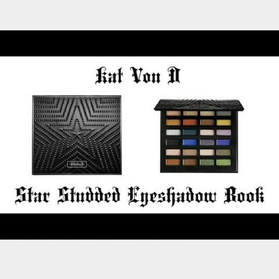 JUST REDUCED!Limited Edition! Kat Von D Eye Shadow KAT VON D Limited Edition! Star Studded Eye-shadow Palette! Brand new, never used! Still has plastic protector and box! Sephora Makeup Eyeshadow