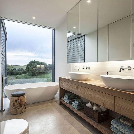 Haz volar tu mente e imagina tener uno de estos maravillos baños (para todos los gustos).