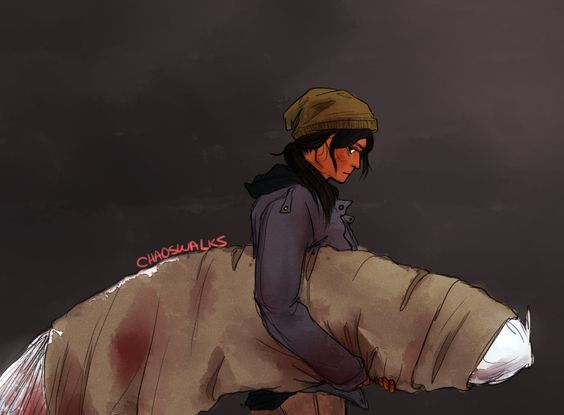 From Angelfall - this is a perfect image of Penryn... I def imagine her grungy and real... it's an apocalypse for goodness sake!  The Thoughtful Novelist: Fanart