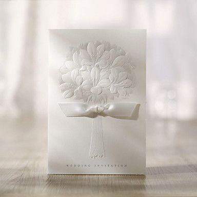 casamento padrão bouquet convite-conjunto de 50 – USD $ 17.99