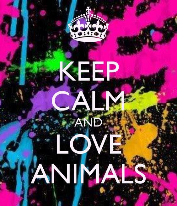 I luv animals