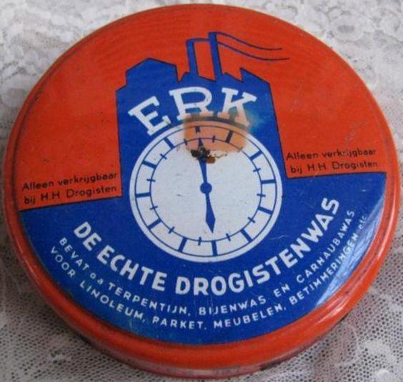 ERK - de echte drogistenwas - Chemische Fabriek Eureka Leimuiden